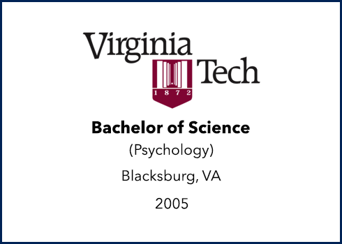 Virginia Tech - Bachelor of Science - Psychology